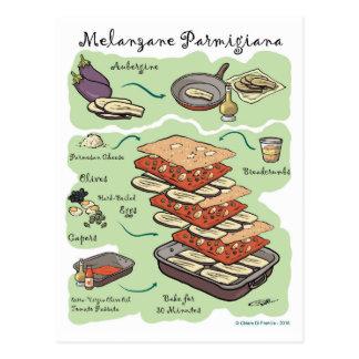 Melanzane Parmigiana Postcard