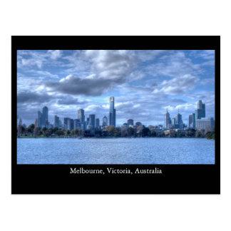 Melboure Skyline Post Card