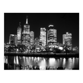 Melbourne At Night Postcards