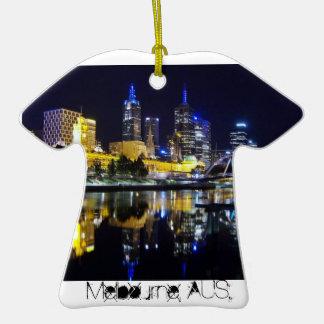 Melbourne AUS txt Ornaments