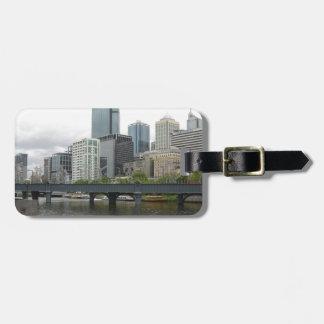 Melbourne Australia Luggage Tag