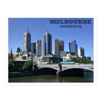 Melbourne - Australia Postcard
