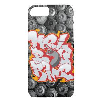 Melbourne Graffiti Bubble Letters iPhone 8/7 Case