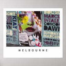Melbourne Lanes No.1 [PUP001] Posters