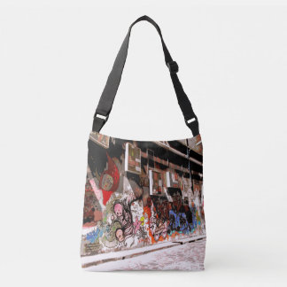 Melbourne Laneway Street Art TCross Body Bag