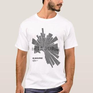 Melbourne Map T-Shirt