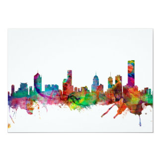Melbourne Skyline Card