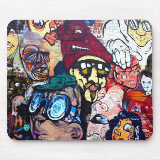 Melbourne street art / grafitti mouse mat