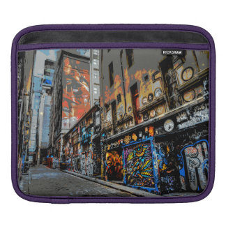 Melbourne Street Art iPad pad Horizontal iPad Sleeve