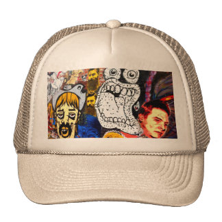Melbourne Street Art Trucker's Cap Trucker Hats