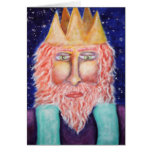 """Melchior"" Three Kings Christmas Art Greeting Cards"