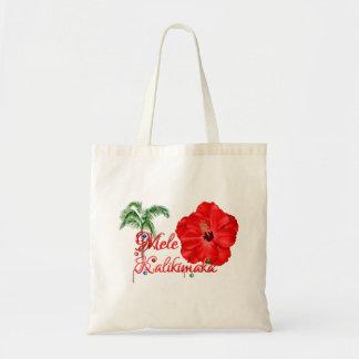 Mele Kalikimaka Budget Tote Bag