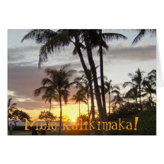 Mele Kalikimaka! Card