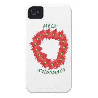 Mele Kalikimaka iPhone 4 Case