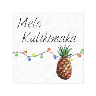 Mele Kalikimaka - Christmas Canvas Print