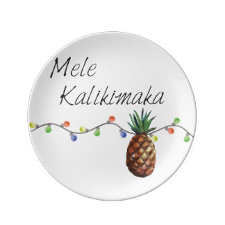 Mele Kalikimaka - Christmas Decorative Plate