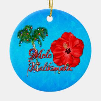 Mele Kalikimaka Christmas Ornament