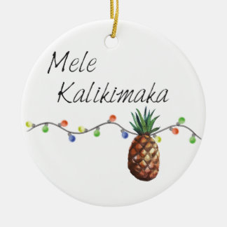 Mele Kalikimaka - Christmas Ornament