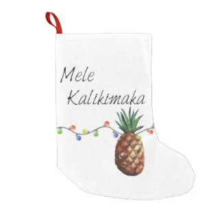 Mele Kalikimaka - Christmas Stocking
