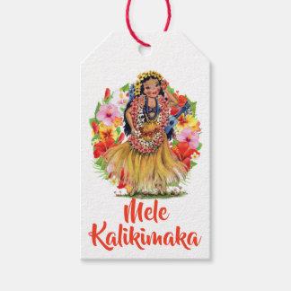 Mele Kalikimaka Gift Tags