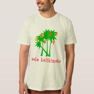 Mele Kalikimaka Hawaiian Christmas Apparel T Shirt