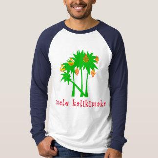 Mele Kalikimaka Hawaiian Christmas Apparel T Shirts