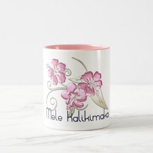 Mele Kalikimaka Hawaiian Christmas Greeting Mug