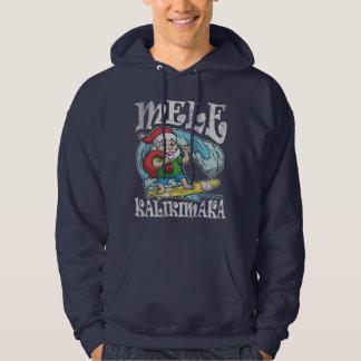 Mele Kalikimaka Hawaiian Christmas Hoodie