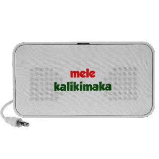 Mele Kalikimaka Notebook Speaker