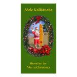 Mele Kalikimaka Photo Card Template