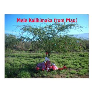 Mele Kalikimaka the Island Way Postcard