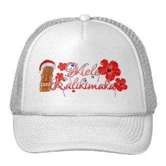 Mele Kalikimaka Tiki Cap