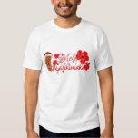 Mele Kalikimaka Tiki T-shirts