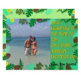 Mele Kalikimaka | Tropical Beach Christmas Card