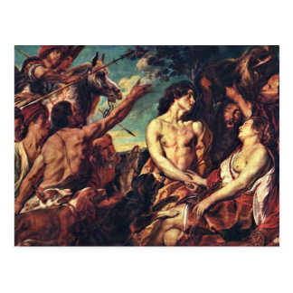 Meleager And Atalante By Jacob Jordaens Post Cards