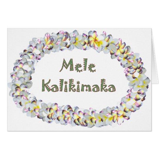 MeleKalikimaka Card