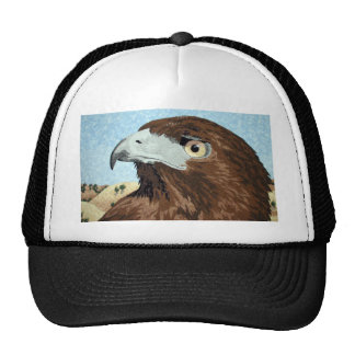Melinistic Red-tail- textile Trucker Hat
