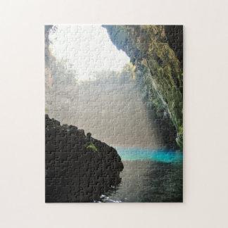 Melissani Cave (Kefalonia) Jigsaw Puzzle