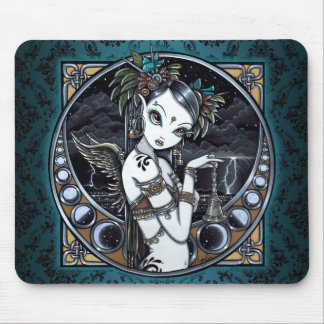 Melita Goth Tribal Fusion Dancer Angel Mousepad