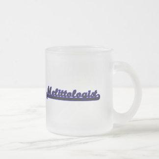 Melittologist Classic Job Design Frosted Glass Mug