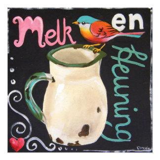 Melk en Heuning Custom Invites