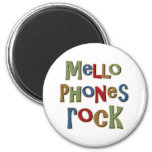 Mellophones Rock 6 Cm Round Magnet