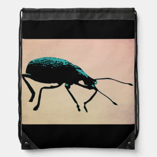 Mellow Beetle Drawstring Backpack