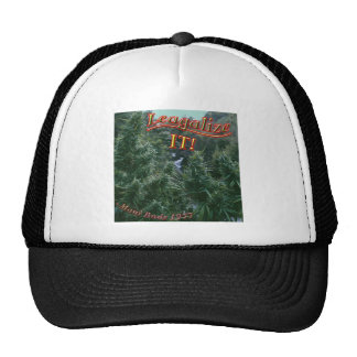 Mellow Out Legalize weed buds pot Cap