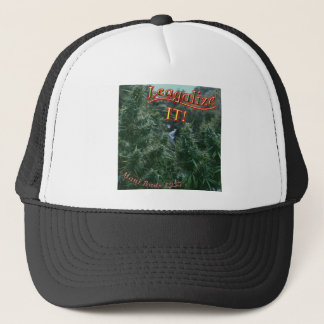 Mellow Out Legalize weed buds pot Trucker Hat