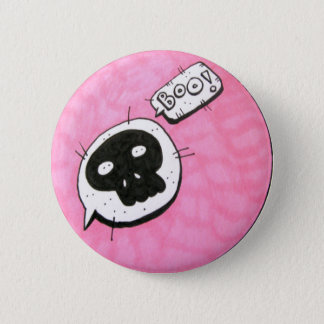 Mellow skull badge
