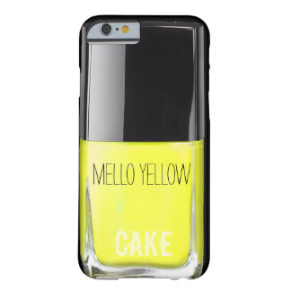 MELLOW YELLOW NAIL POLISH CASE BARELY THERE iPhone 6 CASE