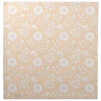 Mellow Yellow Pattern Cloth Napkins (set of 4)