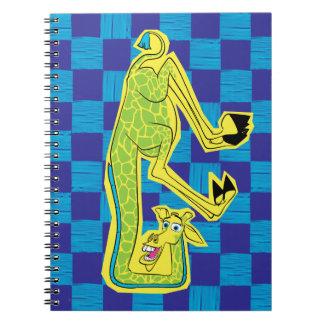 Melman Upside Down Notebooks