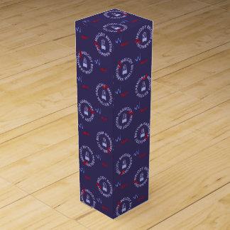 MELODY RHYTHM HARMONY (blue color) Wine Gift Box
